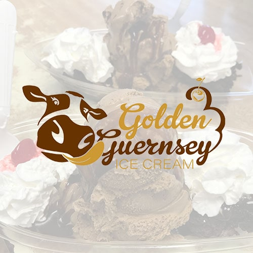Golden Guernsey Ice Cream Logo