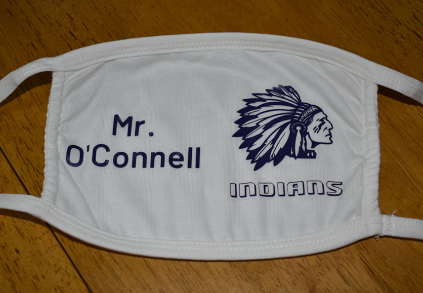 Mr. O'Connell - Stamford Indian Mask